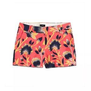 J.Crew Hibiscus Floral shorts 4